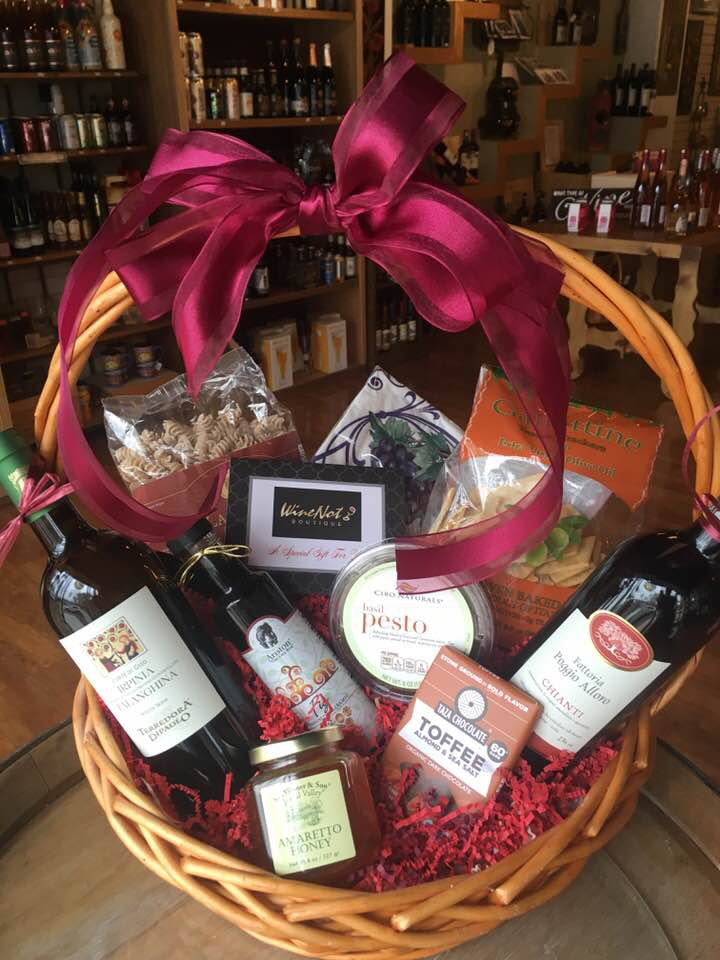 Gift Baskets - WineNot Boutique: